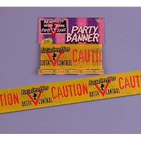 BACHELORETTE CAUTION PARTY TAPE