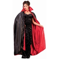 "45"" REVERSIBLE SATIN BLK/RED"