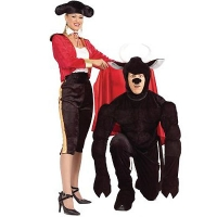 Couples Bull and Bull Fighter
