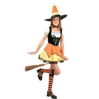 Candy Corn Witch Teen