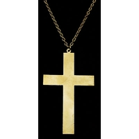 Cross Necklace - Wooden