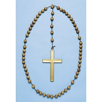 Cross Necklace - Beads