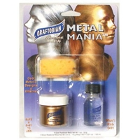 METAL MANIA GOLD OR SILVER